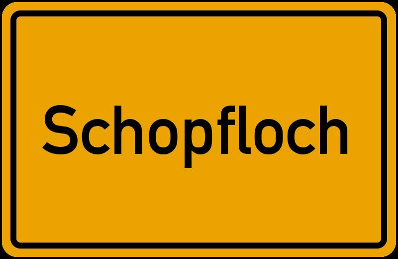 onlinestreet Branchenbuch für Schopfloch