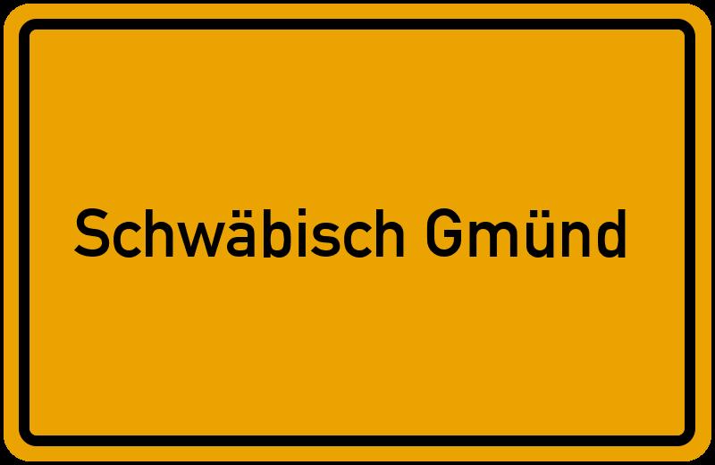 Schwäbisch straßenverzeichnis schwäbisch gmünd baden württemberg
