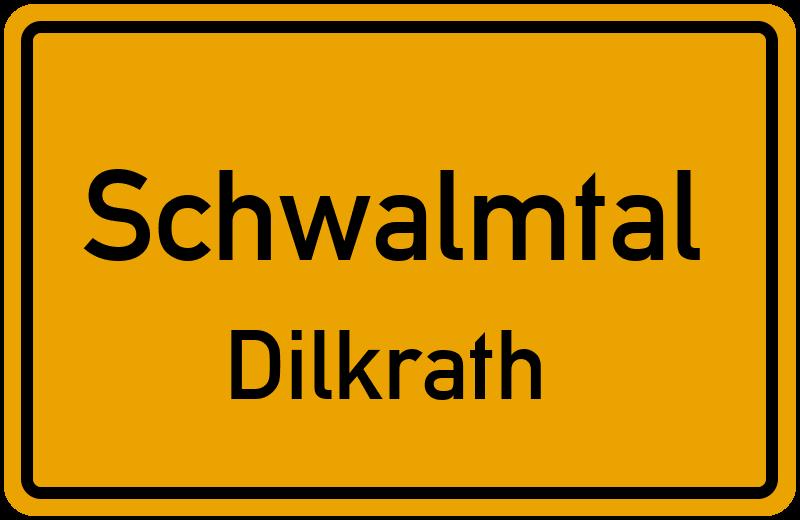 Ortsschild Schwalmtal