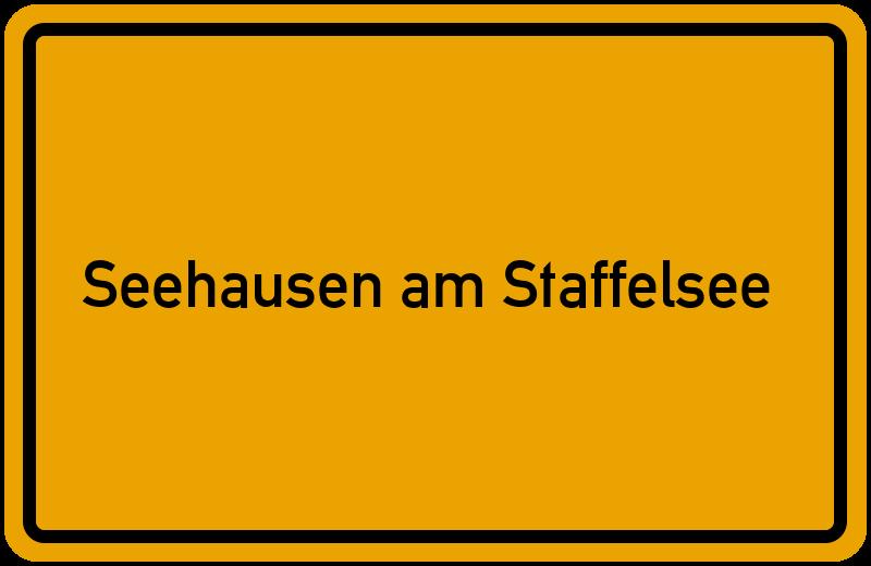onlinestreet Branchenbuch für Seehausen am Staffelsee