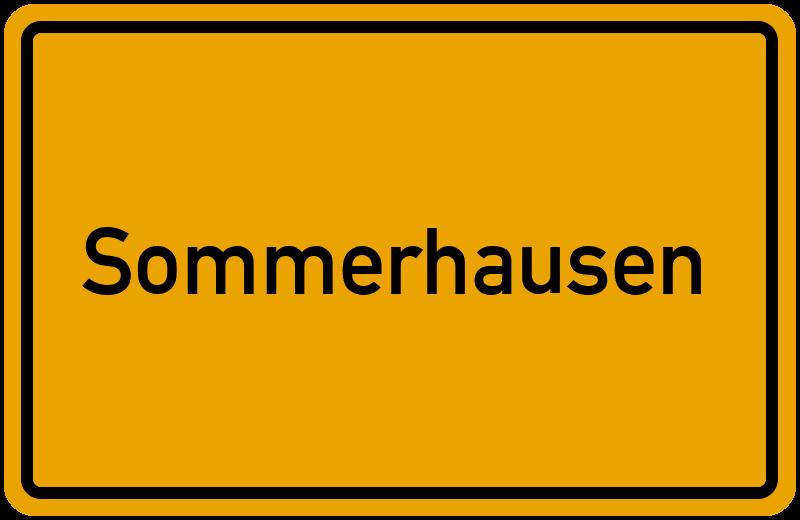 onlinestreet Branchenbuch für Sommerhausen