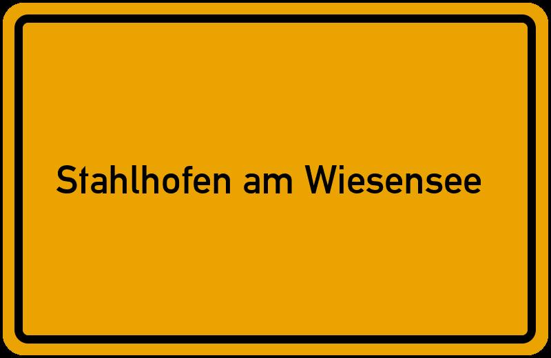 onlinestreet Branchenbuch für Stahlhofen am Wiesensee