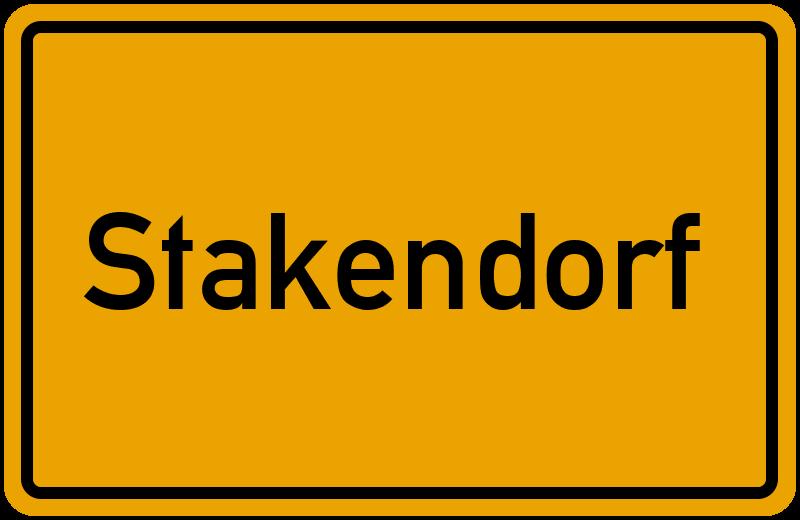 onlinestreet Branchenbuch für Stakendorf