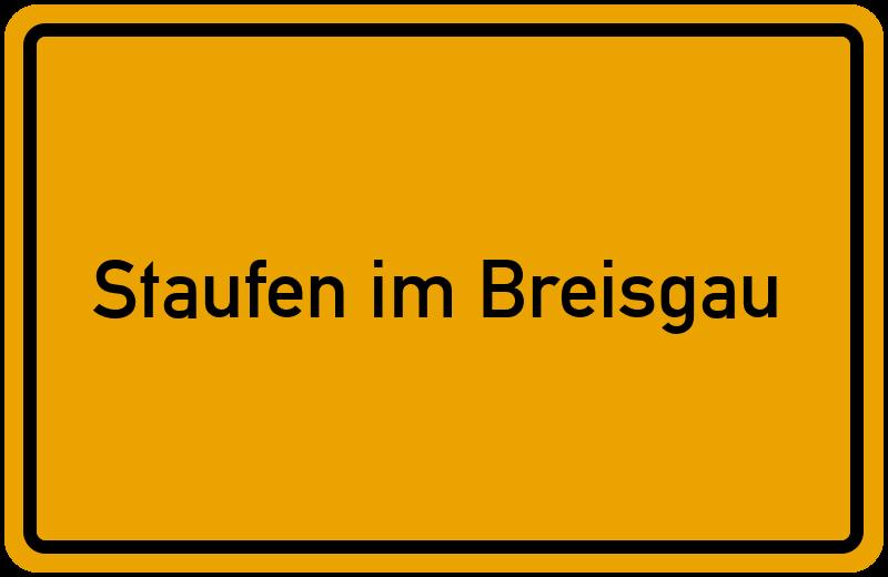 onlinestreet Branchenbuch für Staufen im Breisgau