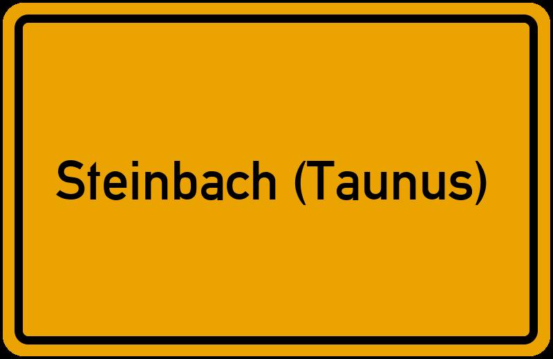 onlinestreet Branchenbuch für Steinbach (Taunus)