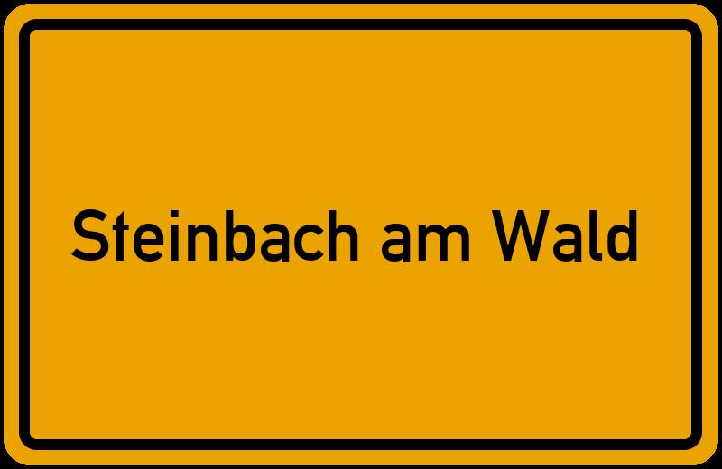 onlinestreet Branchenbuch für Steinbach am Wald