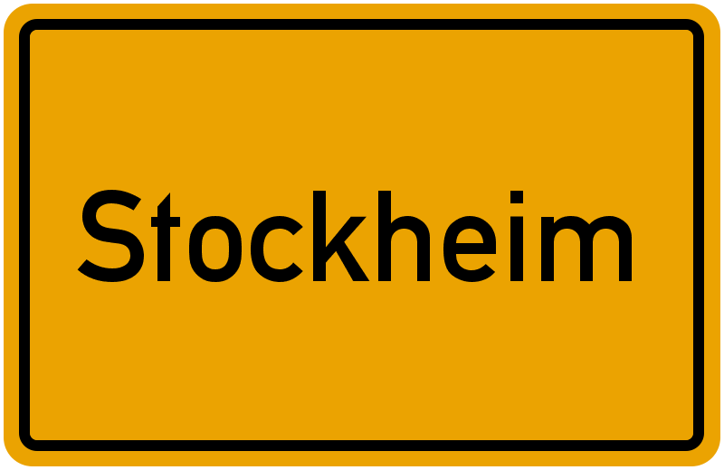 Stockheim oberfranken