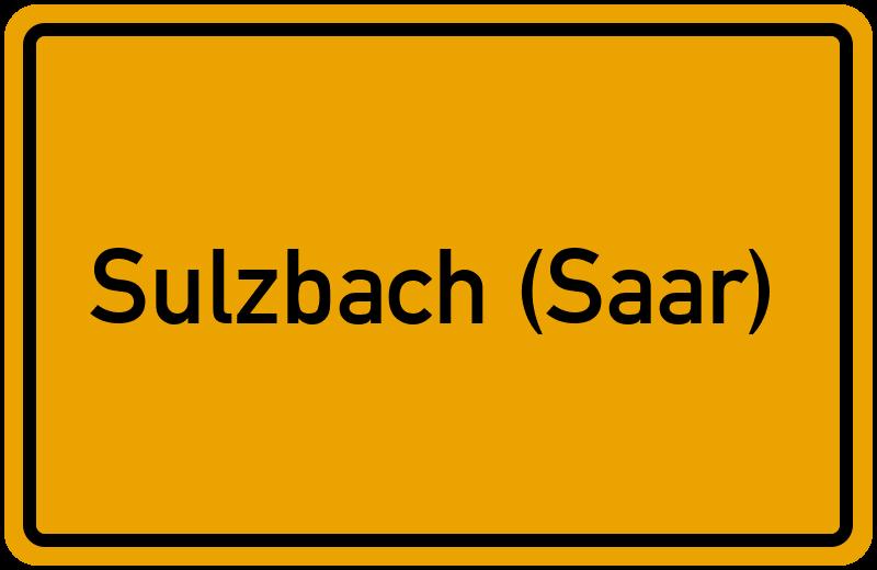 onlinestreet Branchenbuch für Sulzbach (Saar)
