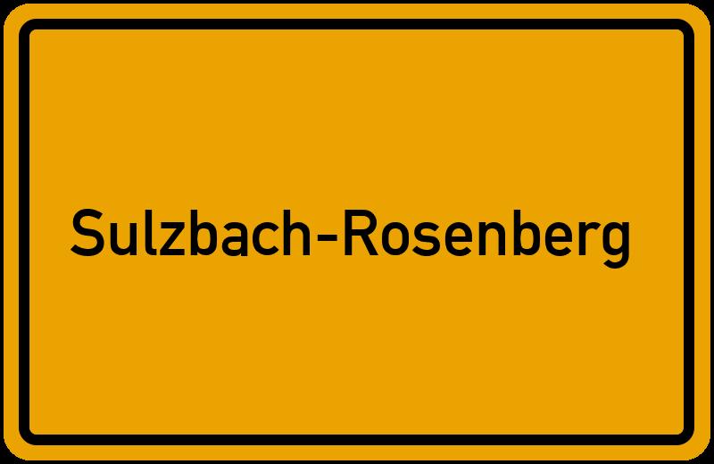 onlinestreet Branchenbuch für Sulzbach-Rosenberg