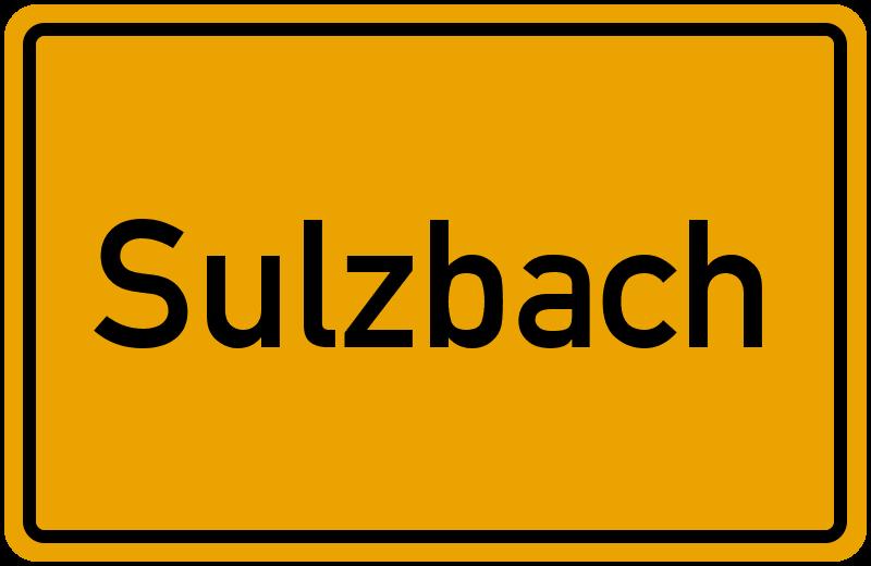 onlinestreet Branchenbuch für Sulzbach