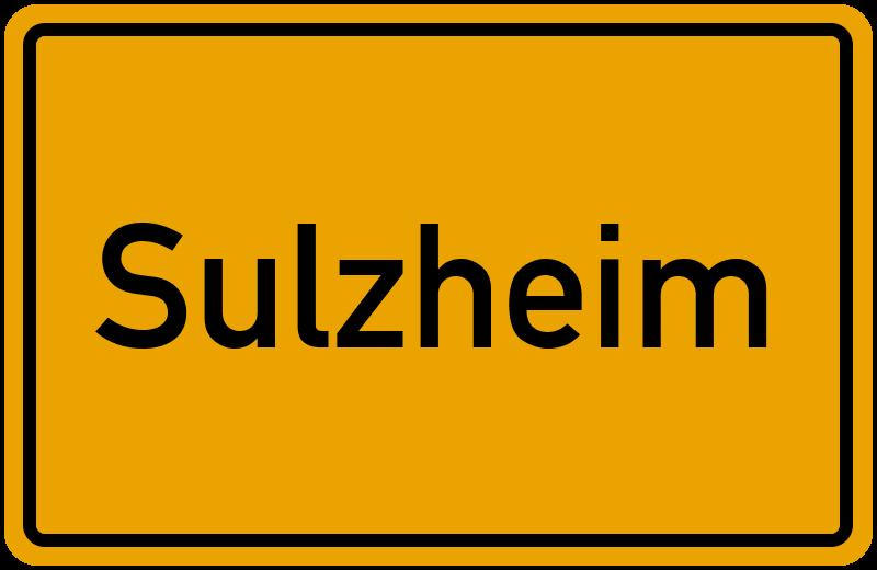 onlinestreet Branchenbuch für Sulzheim