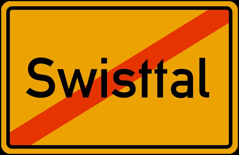 Ortsschild Swisttal
