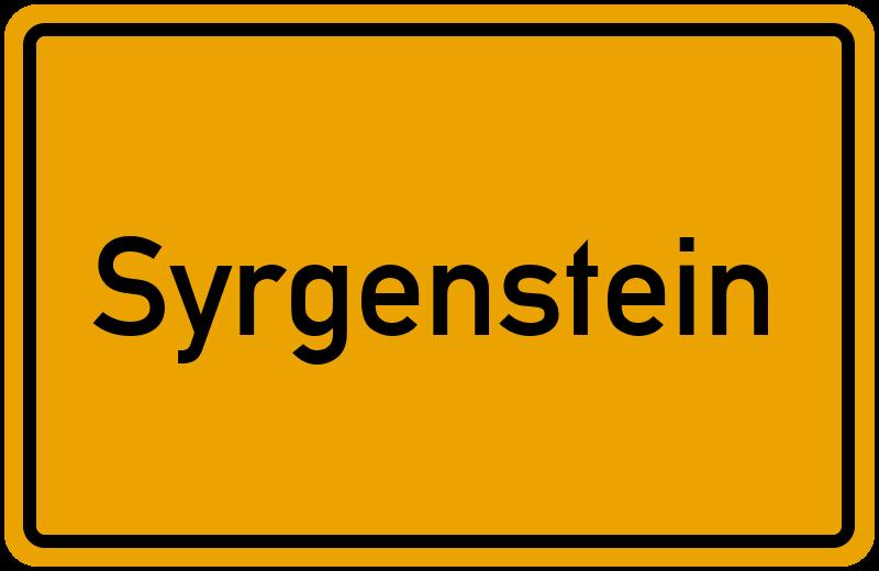 onlinestreet Branchenbuch für Syrgenstein