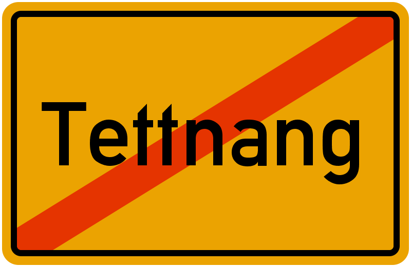Ortsschild Tettnang