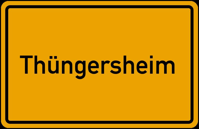 onlinestreet Branchenbuch für Thüngersheim