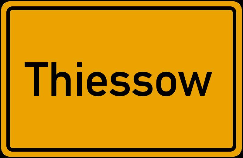 onlinestreet Branchenbuch für Thiessow
