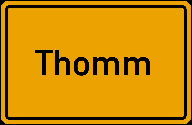 onlinestreet Branchenbuch für Thomm