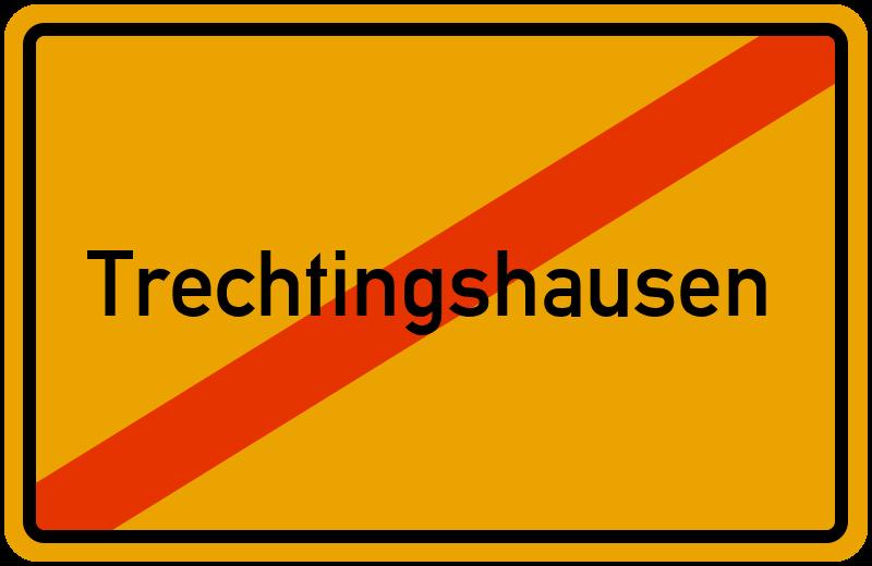 Ortsschild Trechtingshausen