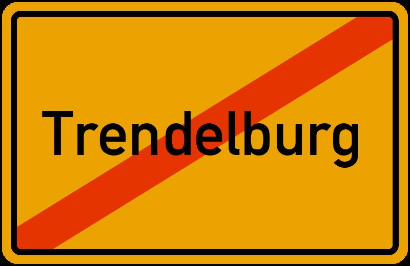Ortsschild Trendelburg