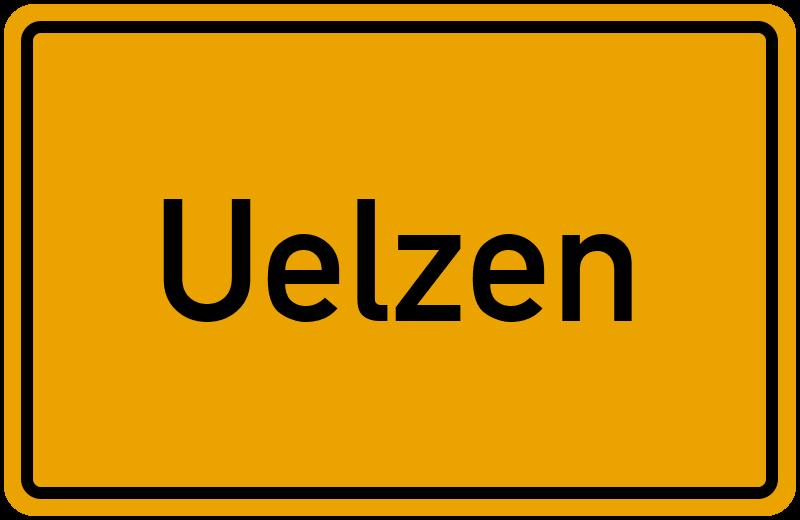 Ortsschild Uelzen