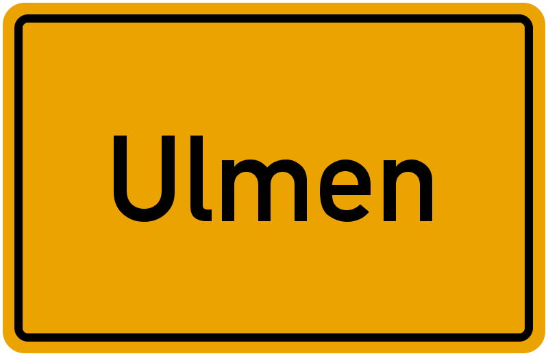 onlinestreet Branchenbuch für Ulmen