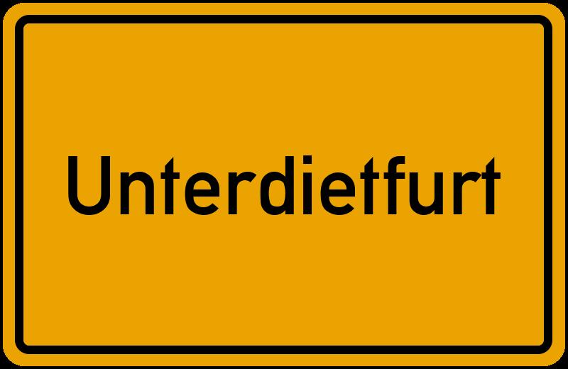 onlinestreet Branchenbuch für Unterdietfurt