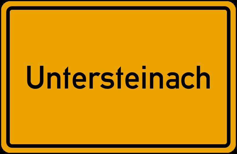 onlinestreet Branchenbuch für Untersteinach