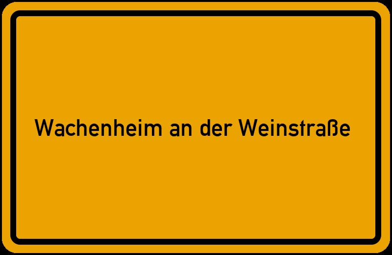 onlinestreet Branchenbuch für Wachenheim an der Weinstraße