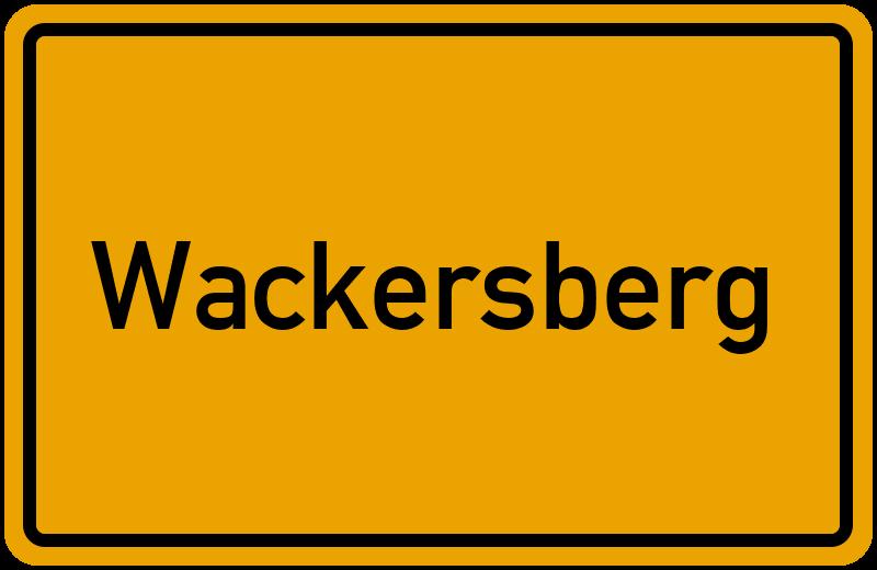 onlinestreet Branchenbuch für Wackersberg
