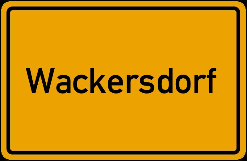 gemeinde wackersdorf