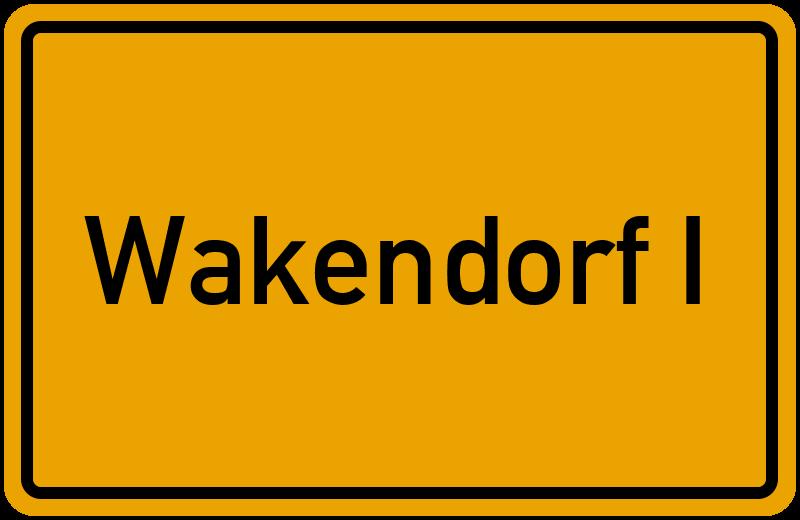 onlinestreet Branchenbuch für Wakendorf I