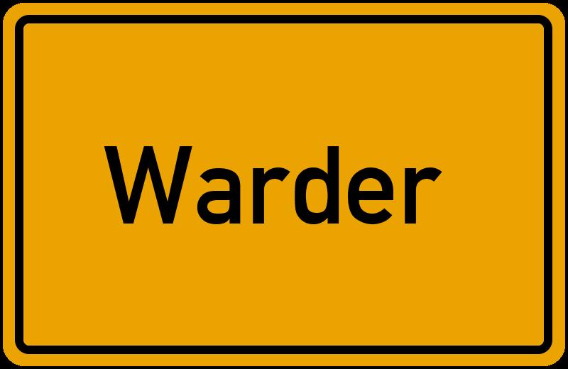 onlinestreet Branchenbuch für Warder