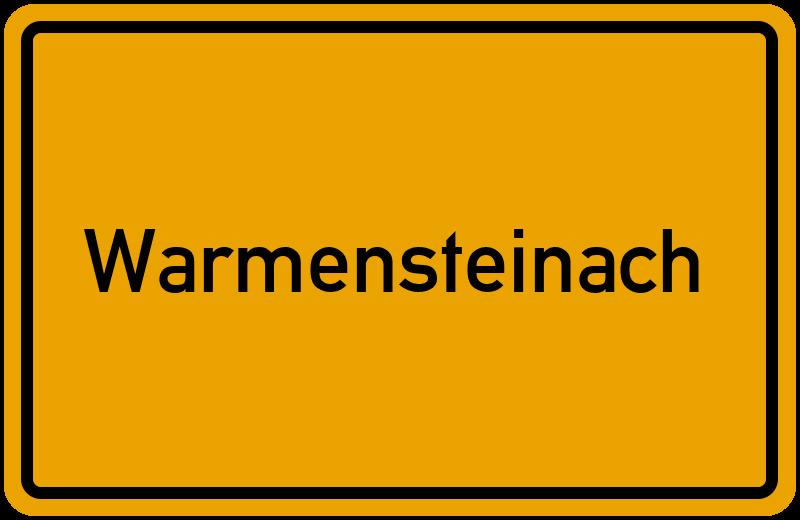 onlinestreet Branchenbuch für Warmensteinach