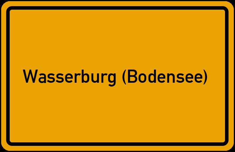 onlinestreet Branchenbuch für Wasserburg (Bodensee)