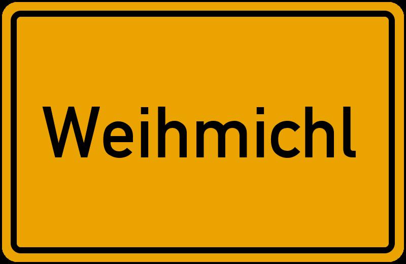 Ortsschild Weihmichl