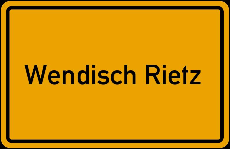 onlinestreet Branchenbuch für Wendisch Rietz