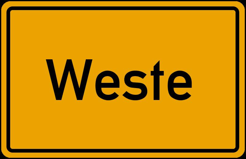 onlinestreet Branchenbuch für Weste