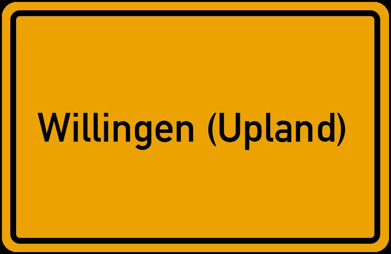 onlinestreet Branchenbuch für Willingen (Upland)