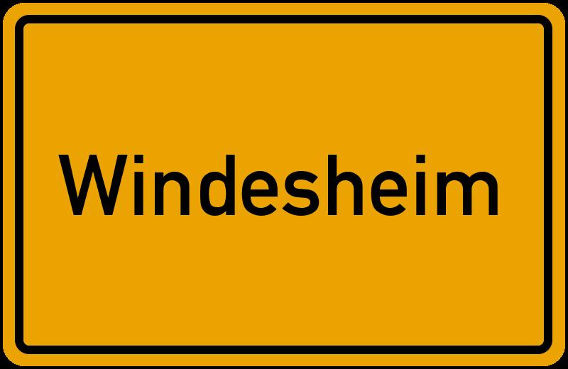 onlinestreet Branchenbuch für Windesheim