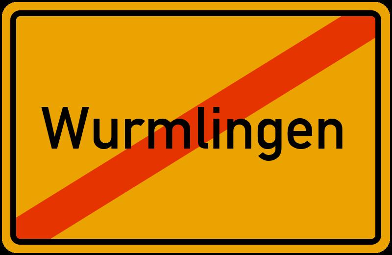 Ortsschild Wurmlingen