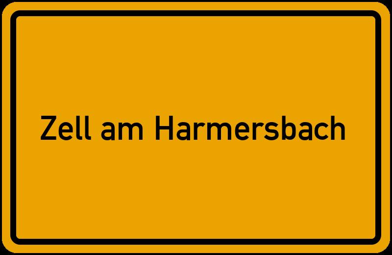 Ortsschild Zell am Harmersbach
